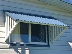 Online Blinds   Buy Corrugated Window Awnings Online