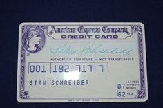 US $150.00 Used in Collectibles, Trading Cards, Credit, Charge Cards