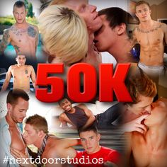 Thanks to YOU we've reached 50k likes on our Facebook page and we just want to take a moment to thank our fans, so THANK YOU! Our fans are the best, we ❤️ you guys! #nextdoorstudios #gay #gaymen #gayguys #gayboys #instagay #gaygram #men #menofinstagram #hotmen #hotguys #hotboys