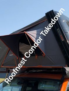 Complete video of how to takedown a Roofnest Condor. One of the best rooftop tents out on the market.