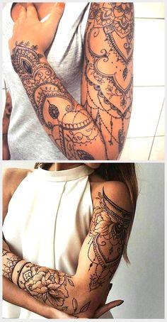 Tattoo of women – # small tattoo # male p … – Tattoo Ideas Lace Sleeve Tattoos, Henna Sleeve, Feminine Tattoo Sleeves, Lace Tattoo, Feminine Tattoos, Feminine Shoulder Tattoos, Lace Shoulder Tattoo, Badass Tattoos, Mom Tattoos