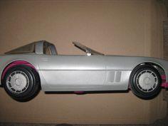 barbie car corvette