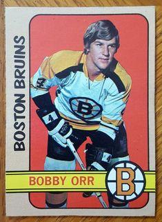 Bruins Hockey, Hockey Players, Ice Hockey, Hockey Cards, Baseball Cards, Montreal Hockey, Hockey Hall Of Fame, Bobby Orr, Sports Figures