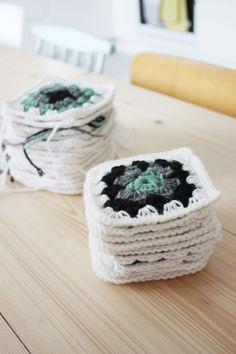 Granny Crochet Sort of Pink.