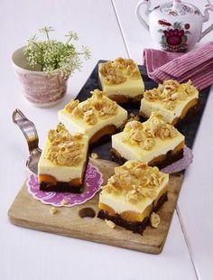Das Rezept für Brownie-Cheesecake mit Aprikosen und weitere kostenlose Rezepte auf LECKER.de