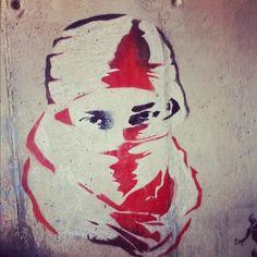 MysteryLand #santiago #chile #graffiti #streetart #stencil (Taken with instagram)