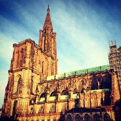 Photo by student Fred Gard. Strasbourg Cathedral, Gothic Cathedral, Barcelona Cathedral, Hans Christian, Study Abroad, Student, France, World, Building