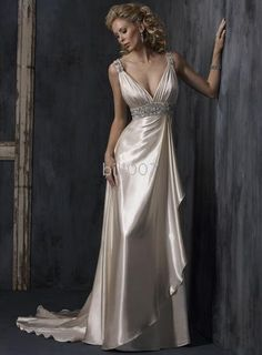 The dress I plan to wear for my wedding, only the embellishments will be royal blue.