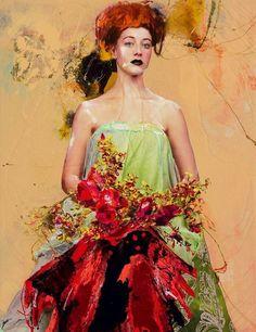 Lita Cabellut - Color of Dew 02