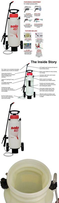 Garden Sprayers 178984: Garden Sprayer Wheels High Pressure Lawn Weed Pest Control Handheld Spray Tool -> BUY IT NOW ONLY: $99.99 on eBay!