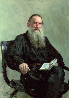 o silêncio dos livros: Ilya Efimovich Repin [ Leo Tolstoy ] 1887