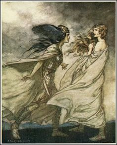 *Arthur Rackham* 1867 ~ 1939 The Ring of the Niblung by | Null Entropy