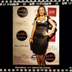 Designer YarTJewelry Yana Tammah at LAFashionWeek www.YarTJewelry.com