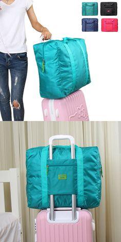 $8.52 Casual Nylon Waterproof Storage Bag Folding Travel Bag