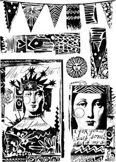 Paper Artsy by Lynne Perrella - Pacific Queen - LPC005