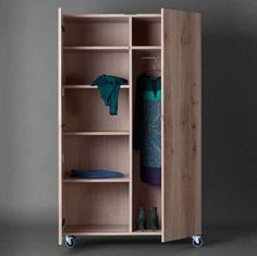 Wooden Wardrobe Closet, Pallet Wardrobe, Wooden Closet, Wardrobe Furniture, Diy Wardrobe, Wardrobe Cabinets, Wardrobe Storage, Bedroom Wardrobe, Wardrobe Design