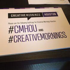 CreativeMornings/Houston