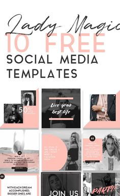 Totally FREE social media template pack!