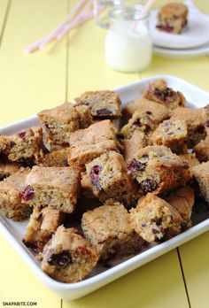 Cherry Chocolate Blondies.