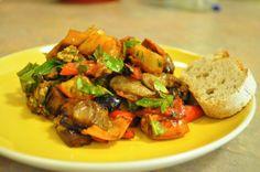 Eggplant Salad #eggplant #salad