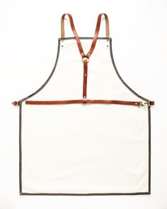 Twig and Bones Canvas and Genuine Leather Barbers Apron - - Amazon.com