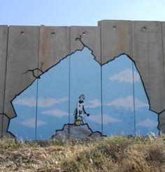 Banksy, Separation Wall, Palestine
