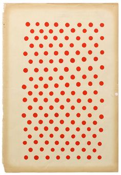 illustration US : pois, rouge -blanc, Margaret Kilgallen, 2000, femmes artistes