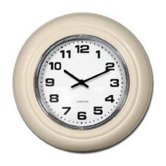 Small London Modern Vintage Cream Wall Clock 31cm by Beaumonde, http://www.amazon.co.uk/dp/B00EHIRD60/ref=cm_sw_r_pi_dp_.ZYLsb19VPNP4