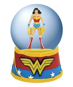 Take a look at this Wonder Woman Lasso Water Globe on @zulily today!
