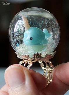 Special Edition: To add to our snow globe collection here at Pop Princess, we are featuring complimentary rings and necklaces (coming soon!) in