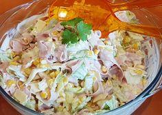 Brutus sonkás saláta recept foto Ale, Cabbage, Vegetables, Cooking, Health, Recipes, Cook Books, Food, Kitchen