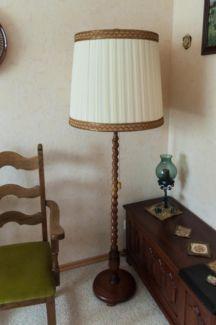 70er Jahre Stehlampe 160 cm hoch x 56 cm b. in Niedersachsen - Bispingen   Lampen gebraucht kaufen   eBay Kleinanzeigen