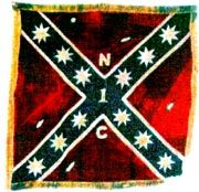 First north carolina cavalry battle flag