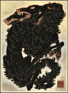 Artwork ©CanisAlbus Surma is an archaic, poetic Finnish word for violent death. Art And Illustration, Illustrations, Doodle Art, Dessin Old School, Arte Obscura, Arte Horror, Wow Art, Mythical Creatures, Tattoo Studio