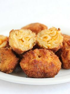 Fried Bacon Macaroni and Cheese Balls | Kirbie's Cravings