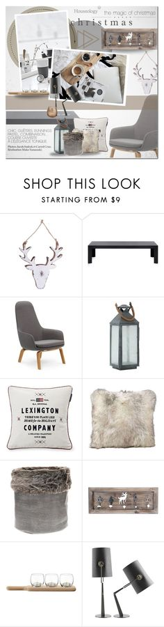 """The magic of Christmas"" by dian-lado on Polyvore featuring interior, interiors, interior design, home, home decor, interior decorating, Kartell, Normann Copenhagen, Eva Solo and Eichholtz"