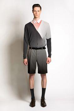 Jonathan Saunders Spring 2014 Menswear Collection Slideshow on Style.com