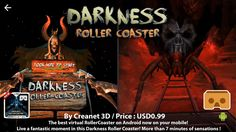 (11. 26. 2016) DARKNESS ROLLER COASTER VR - 2016 Best VR 3D SBS Roller Coaster for Google Cardboard  More than 7 minutes of sensation is waiting for you!  (7분 이상의 센세이션이 당신을 기다리고 있습니다!)  Watch on WAVRP ▶ http://wavrp.com/awesome ◀  #wavrp360 #wavrp #vr #virtualreality #360video #curation #워프360 #워프 #영상 #360영상 #큐레이션 #롤러코스터 #어둠 #공포 #Rollercoaster #darkness #fear