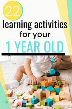 Are you looking for the best activities for 1 year olds? Learn about 1 year old development and what simple activities and play ideas can help encourage it! Activities For 1 Year Olds, Sensory Activities Toddlers, First Day Of School Activities, Rainy Day Activities, Summer Activities For Kids, Educational Activities, Baby Sensory, Indoor Activities, Summer Fun List