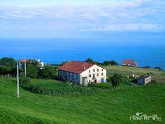 Basque House, Farm, & the Sea, Spain