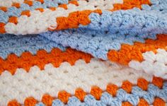 Granny Crochet Stitch in a Straight Line - Dream a Little Bigger