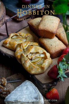 Recipe for apple tarts and seed cakes inspired by the Hobbiton evening dinner in New Zealand. This feast held in celebration for Hobbit Day.