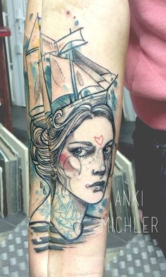 Anki Michler - Tattoo Art Hamburg Germany