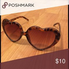 Heart Shaped Glasses One of my favorite pairs EVER. So cute and fun! Charlotte Russe Accessories Sunglasses