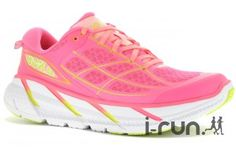 Hoka One One Clifton 2 W pas cher - Chaussures running femme Hoka One One running Clifton 2 W en promo