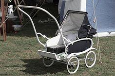 Vintage pram pushchair