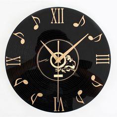 Vintage Vinyl Record CD Wall Clock Decorative Clock Gramophone Record Home Bar Wall Decor | Alex NLD