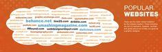 Poplar websites for inspiration