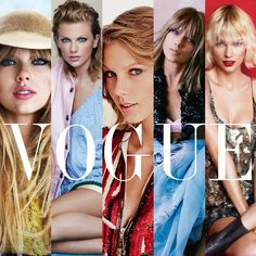 5 years of Taylor Swift on vogue... stunning!!