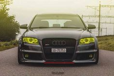 Yellow eyed RS4